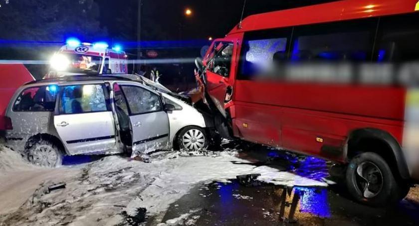 Wypadki, Tragedia Warszawą doszło wypadku [ZDJĘCIA] - zdjęcie, fotografia