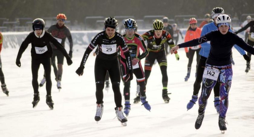 Biegi - maratony, Warszawski Triathlon Zimowy [ZDJĘCIA] - zdjęcie, fotografia