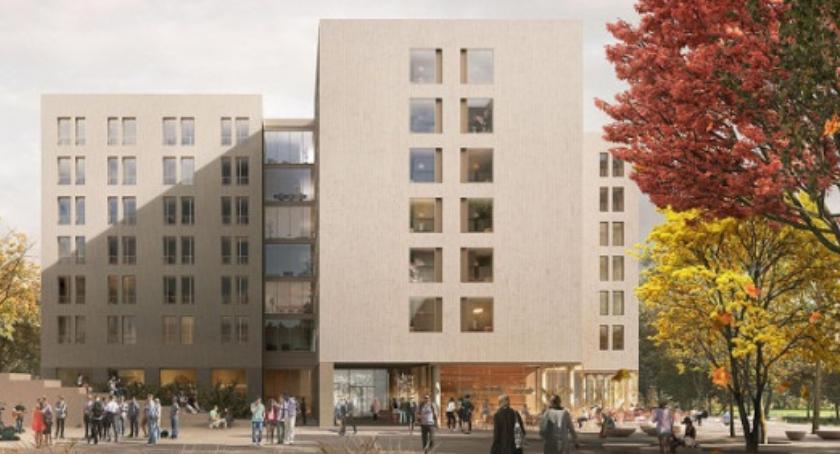 Szkoły wyższe, akademik Uniwersytetu Warszawskiego będzie wyglądał [WIZUALIZACJA] - zdjęcie, fotografia