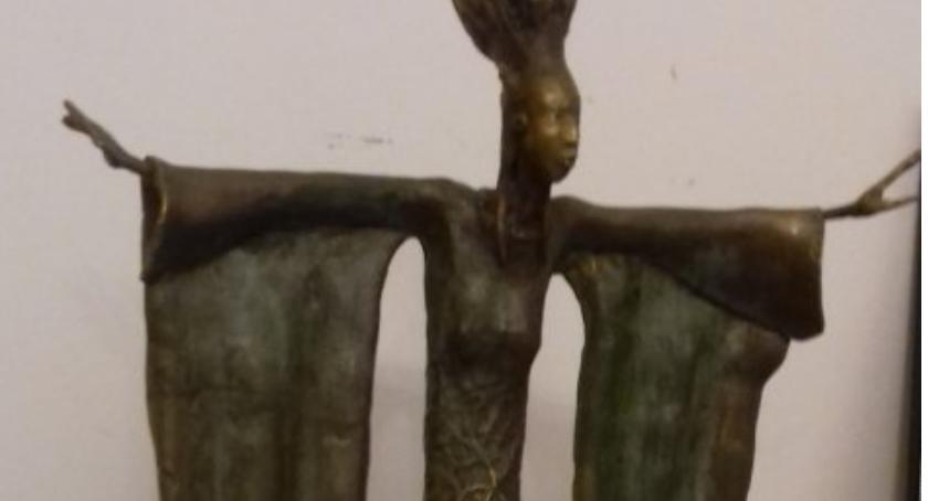 Kradzieże i Rozboje, Skradziono rzeźbę grobu Andrycz - zdjęcie, fotografia