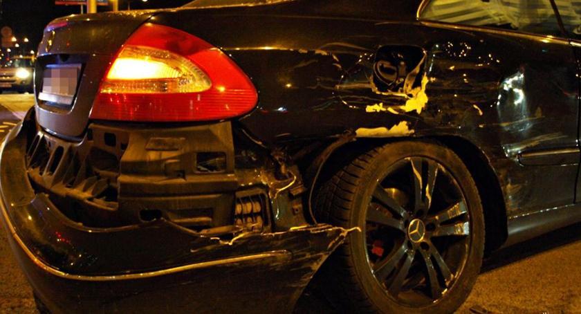Wypadki, Wjechał pomimo zakazu [ZDJĘCIA] - zdjęcie, fotografia