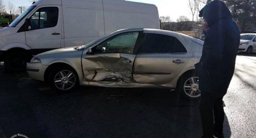 Wypadki, Spowodował wypadek miał uprawnień - zdjęcie, fotografia