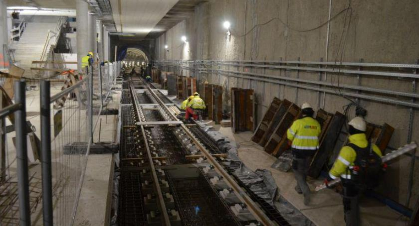 Metro, Kolejny budowy metra [ZDJĘCIA] - zdjęcie, fotografia