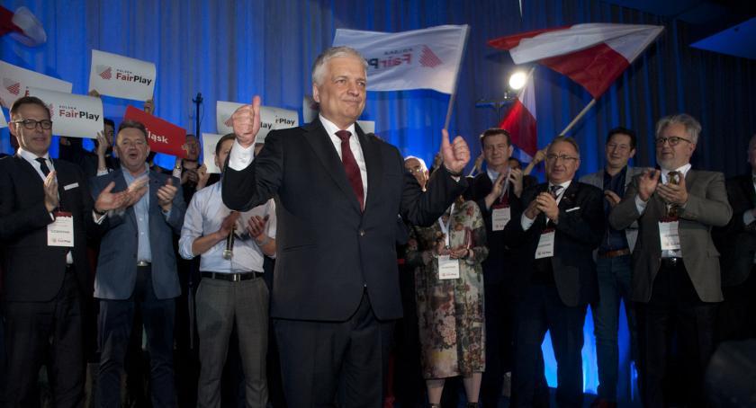 Polityka, Gwiazdowski Możecie zarabiać więcej! Konwencja ruchu Polska - zdjęcie, fotografia