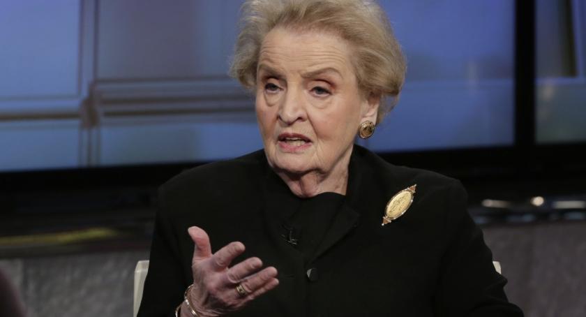 NEWS, Będzie spotkanie Madeleine Albright - zdjęcie, fotografia