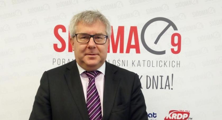 Ryszard Czarnecki w gościem Siódma9