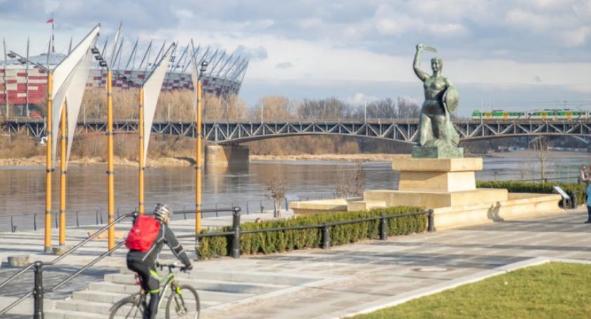 NEWS, Otwarte bulwary pomniku Syrenki! [ZDJĘCIA] - zdjęcie, fotografia