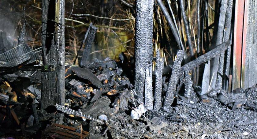 Pożary, Pożar składowiska [ZDJĘCIA] - zdjęcie, fotografia
