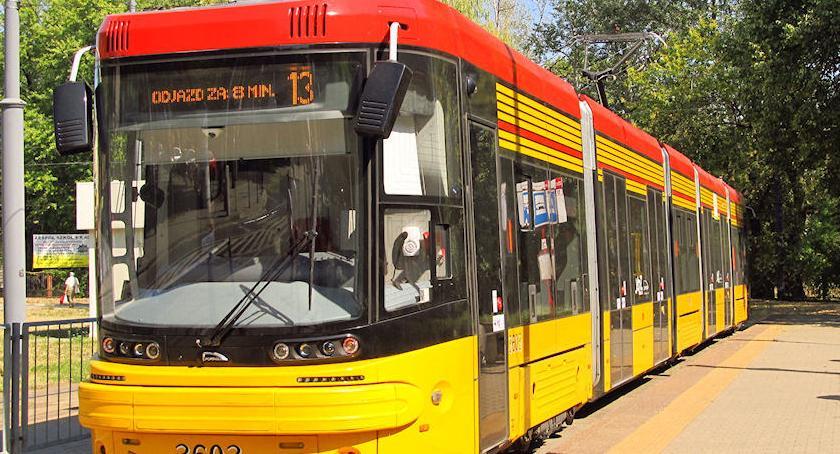 Transport publiczny - komunikacja, Tramwajem Gocław - zdjęcie, fotografia