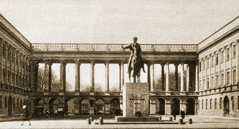 Inwestycje, Marszałek Senatu kontra Prezydent Warszawy Pałac Saski - zdjęcie, fotografia