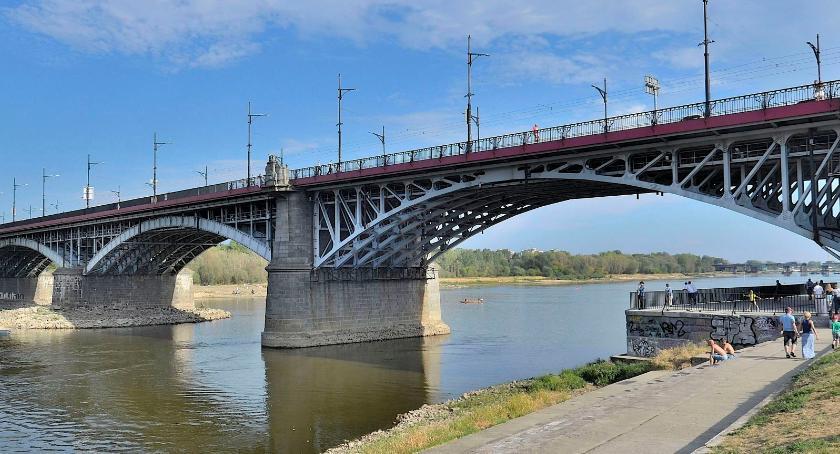 Inwestycje, windami moście Poniatowskiego - zdjęcie, fotografia