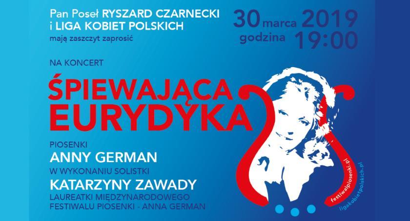 Koncerty - muzyka - płyty , marca koncert piosenek German Pruszkowie - zdjęcie, fotografia