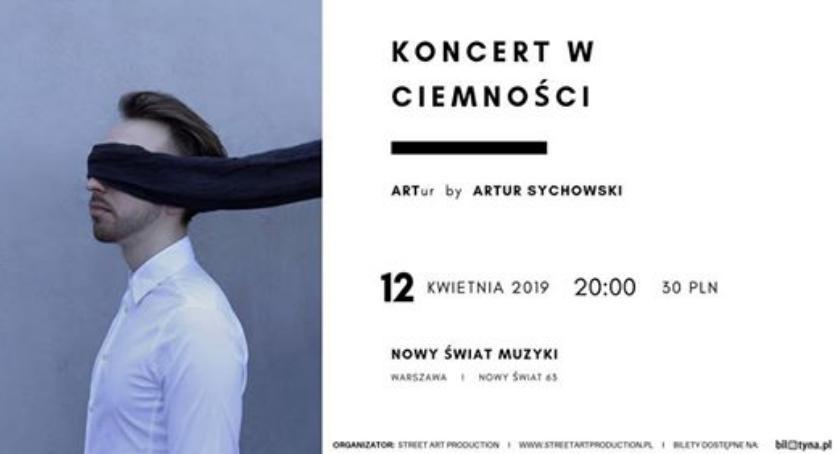 Koncerty - muzyka - płyty , Zapraszamy wyjątkowy Koncert Ciemności! kwietnia - zdjęcie, fotografia