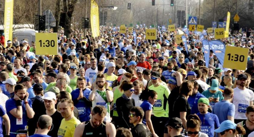 Biegi - maratony, Półmaraton Warszawski [ZDJĘCIA] - zdjęcie, fotografia