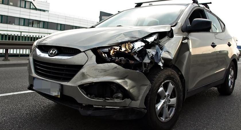 Wypadki, Zderzenie czterech [ZDJĘCIA] - zdjęcie, fotografia