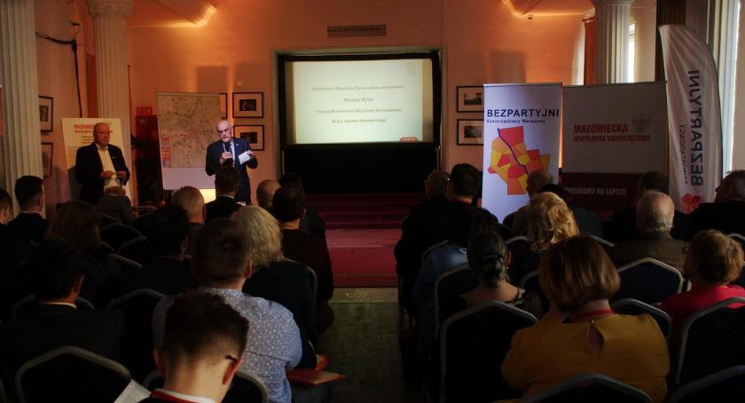 Samorząd, Konferencja programowa Warszawie [ZDJĘCIA] - zdjęcie, fotografia