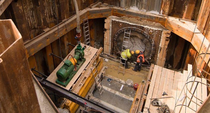 Metro, Metro Bródnie [ZDJĘCIA placu budowy] - zdjęcie, fotografia