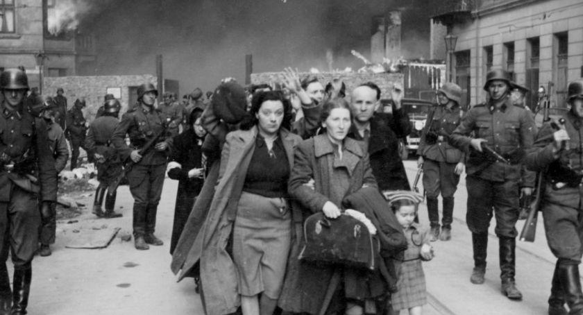 Historia Warszawy, rocznica powstania getcie warszawskim - zdjęcie, fotografia