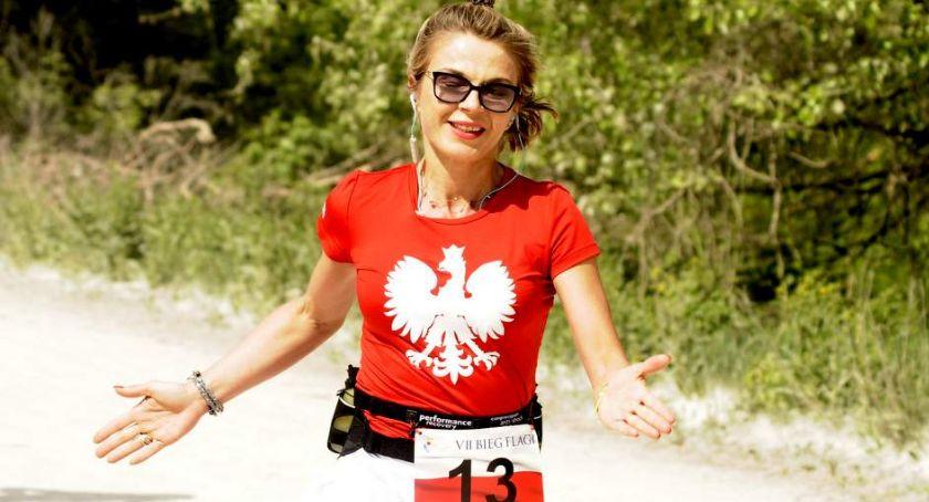 Biegi - maratony, Flagi [ZDJĘCIA] - zdjęcie, fotografia
