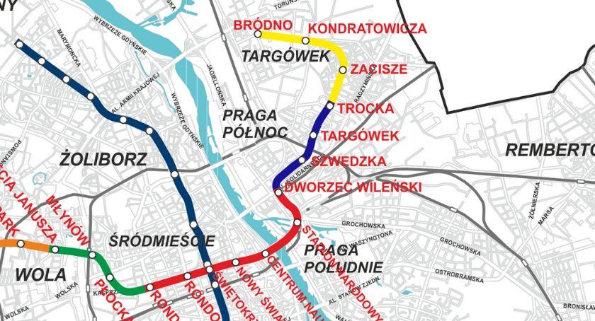 Metro, Jakie linie autobusowe otwarciu nowych stacji linii metra Targówku - zdjęcie, fotografia