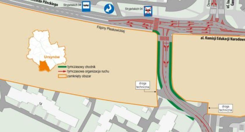 Remonty, Zmiany ruchu drogowego trzech dzielnicach - zdjęcie, fotografia