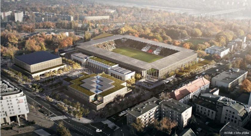 Piłka nożna, będzie wyglądał stadion Polonii Warszawa Rozstrzygnięto konkurs - zdjęcie, fotografia
