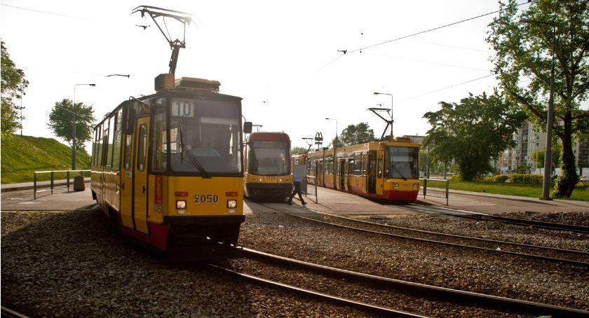 Tramwaje, Pożegnanie pętli tramwajowej osiedle Górczewska - zdjęcie, fotografia