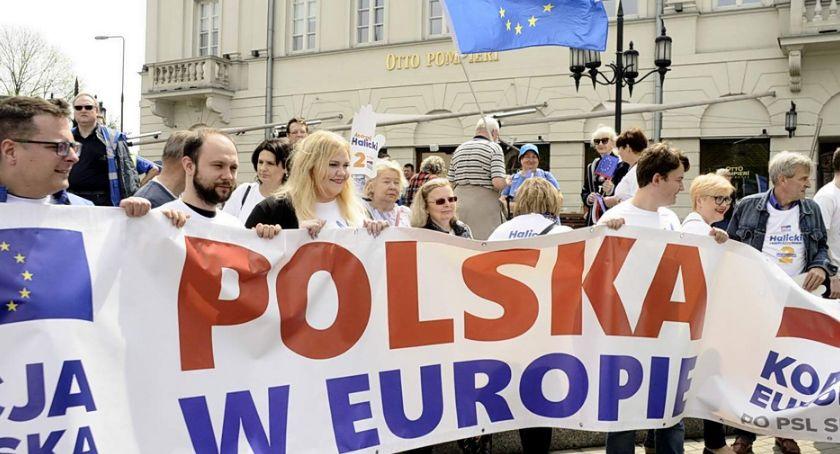 NEWS, Marsz Koalicji Europejskiej Polska Europie - zdjęcie, fotografia