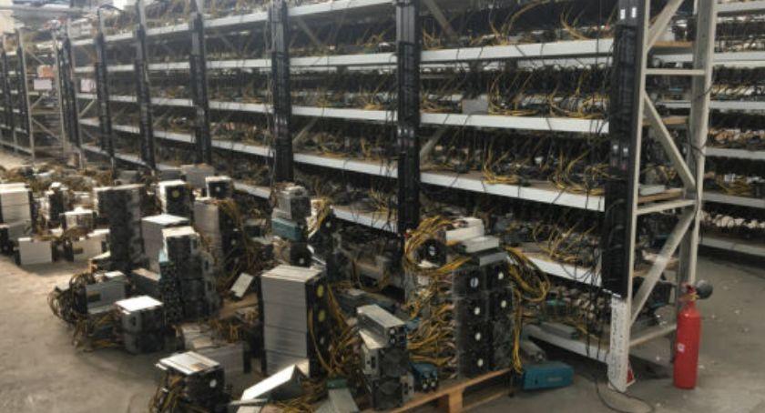 Bezpieczeństwo, Kopalnia kryptowalut wyłudzili miliony - zdjęcie, fotografia