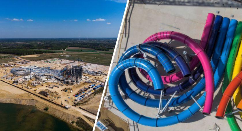 Inwestycje, Suntago Wodny Świat dwóch latach budowy [ZDJĘCIA] - zdjęcie, fotografia