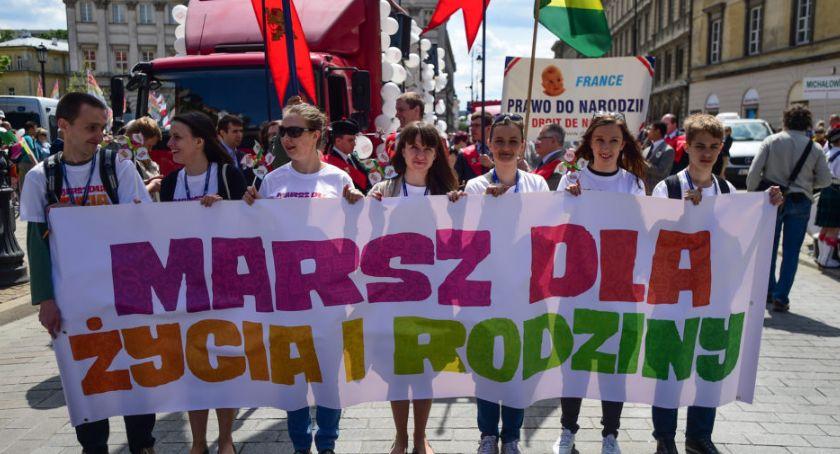 Protesty i manifestacje, Warszawski Marsz Życia Rodziny - zdjęcie, fotografia