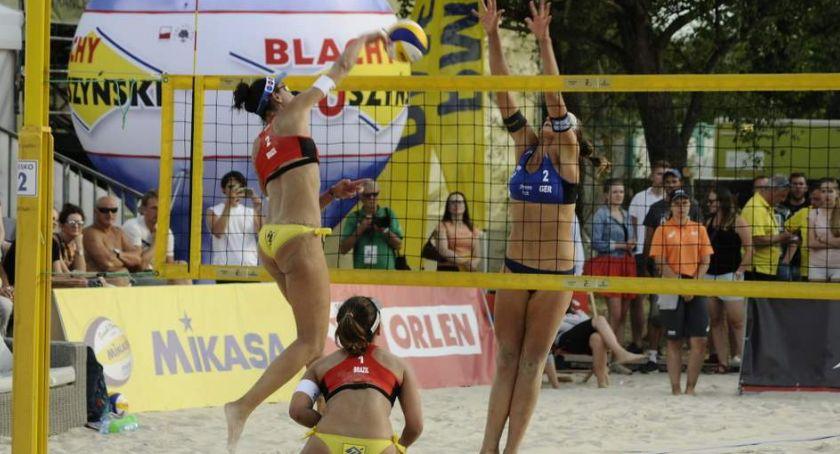 Siatkówka, World Warsaw startuje czerwca Monta Beach Volley - zdjęcie, fotografia