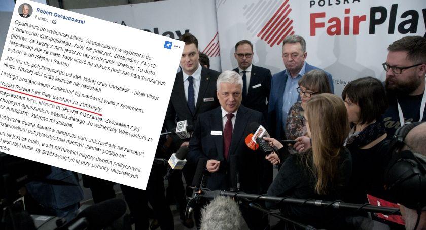 Polityka, Robert Gwiazdowski wycofuje polityki Polska przestaje istnieć - zdjęcie, fotografia