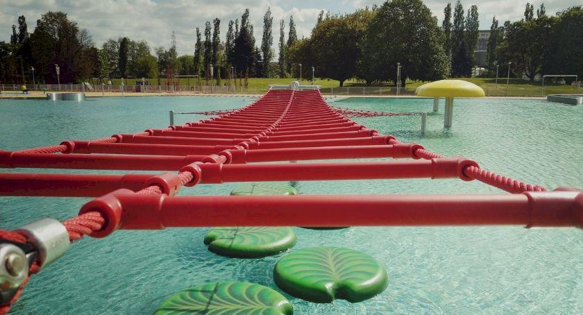 Inwestycje, Otwarcie Parku Wodnego Moczydło modernizacji - zdjęcie, fotografia