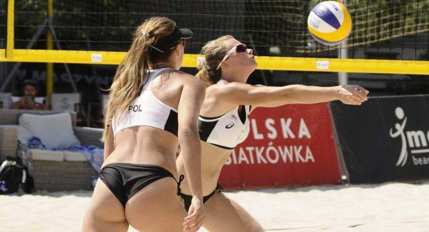 Siatkówka, Ruszył turniej siatkówki plażowej Monta Beach Volley Wisłą [ZDJĘCIA] - zdjęcie, fotografia