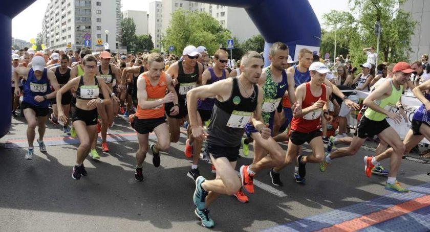 Biegi - maratony, Ursynowa [ZDJĘCIA] - zdjęcie, fotografia