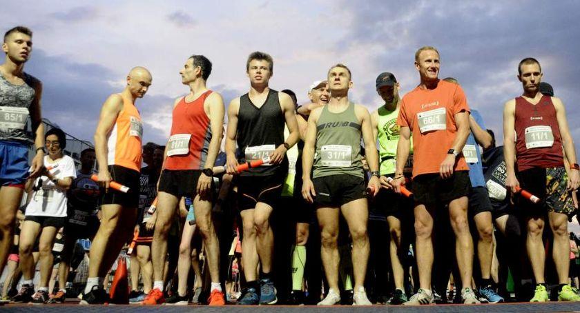 Biegi - maratony, Nocny Sztafetowy Janusza Kusocińskiego [ZDJĘCIA] - zdjęcie, fotografia
