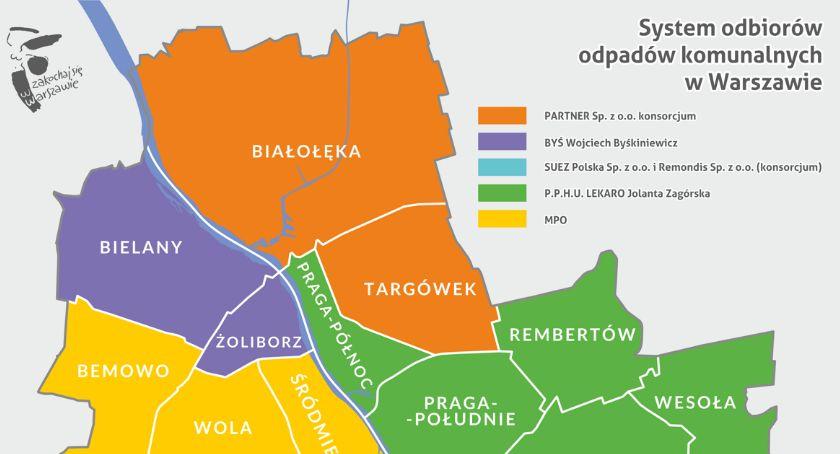 Handel i usługi, odbiera śmieci Warszawie umowy obowiązują lipca - zdjęcie, fotografia