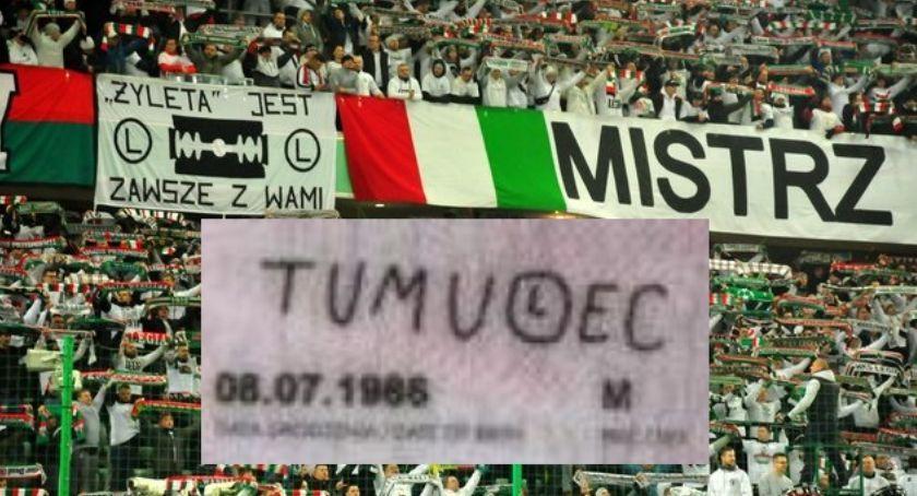 Legia Warszawa, Kamil Tumulec kończy dzisiaj Zasłynął podpisu eLką - zdjęcie, fotografia
