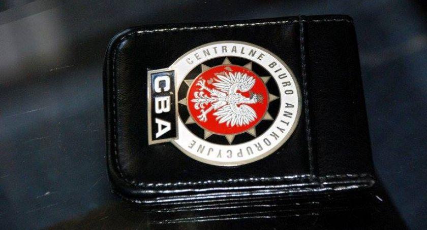 Kradzieże i Rozboje, Wójt Lesznowoli zatrzymany przez - zdjęcie, fotografia