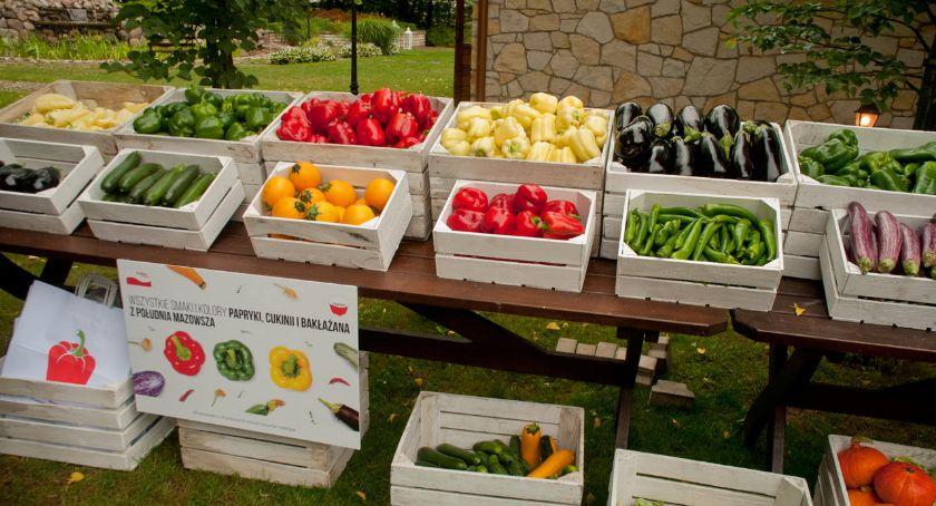 Handel i usługi, Polskie warzywa południa Mazowsza promują się! - zdjęcie, fotografia