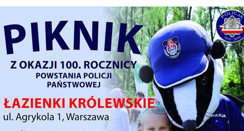 Imprezy, Wydarzenia, Piknik okazji lecia powstania Policji - zdjęcie, fotografia