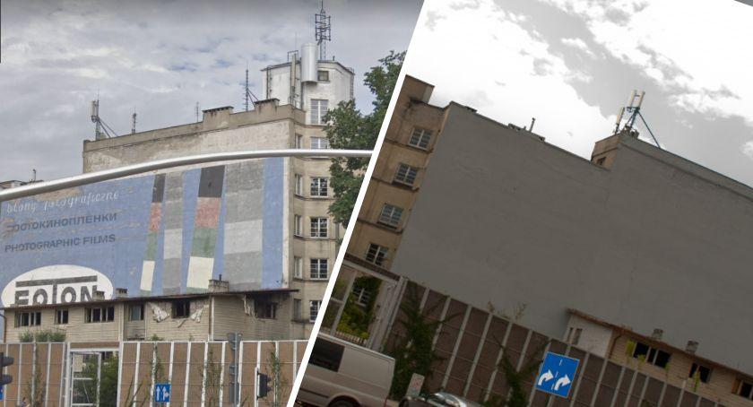 Sztuka, Słynne murale Jubiler Foton Targowej zamalowane - zdjęcie, fotografia