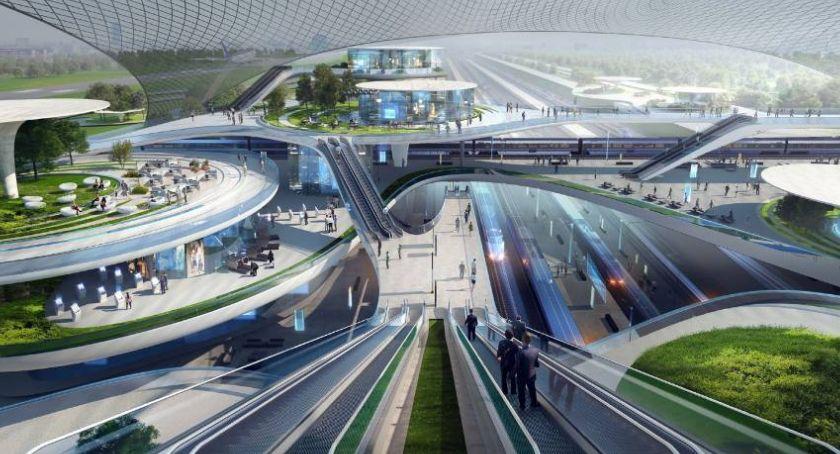 Lotniska, Pokazano pierwsze koncepcje projektowe Centralnego Portu Komunikacyjnego - zdjęcie, fotografia