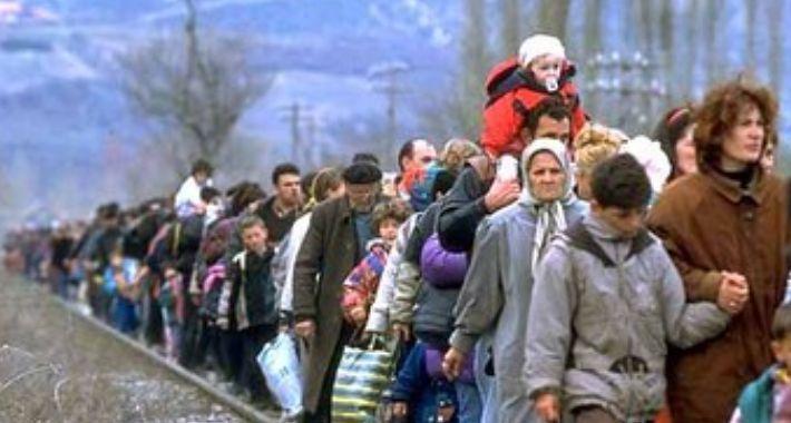 Polityka, korzysta problemie uchodźców - zdjęcie, fotografia