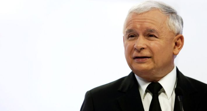 Polityka, Kaczyński zaklina rzeczywistość - zdjęcie, fotografia