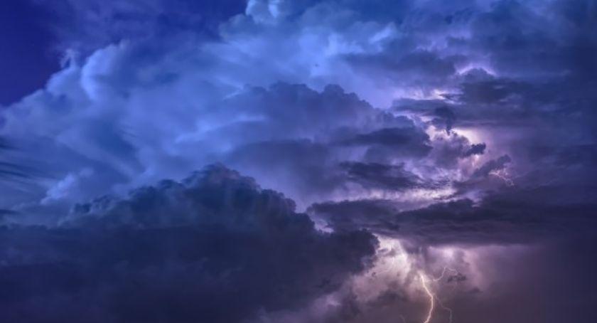 Prognoza pogody, Burze upały mazowieckim - zdjęcie, fotografia