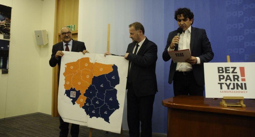 Polityka, Koalicja Bezpartyjni Samorządowcy zainaugurowała kampanię wyborczą - zdjęcie, fotografia