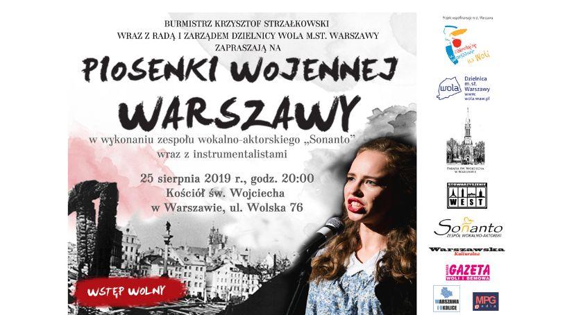 Koncerty - muzyka - płyty , Koncert Piosenki wojennej Warszawy Woli! - zdjęcie, fotografia