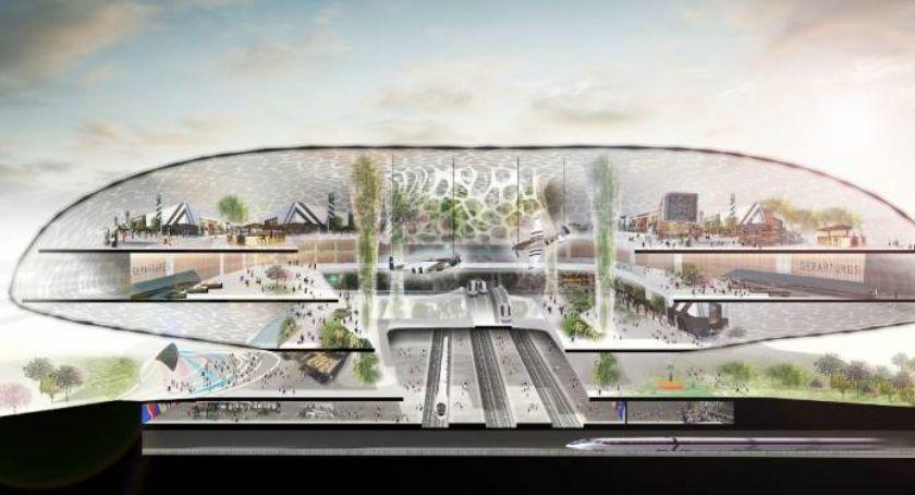Inwestycje, pomysły superlotnisko Warszawą - zdjęcie, fotografia